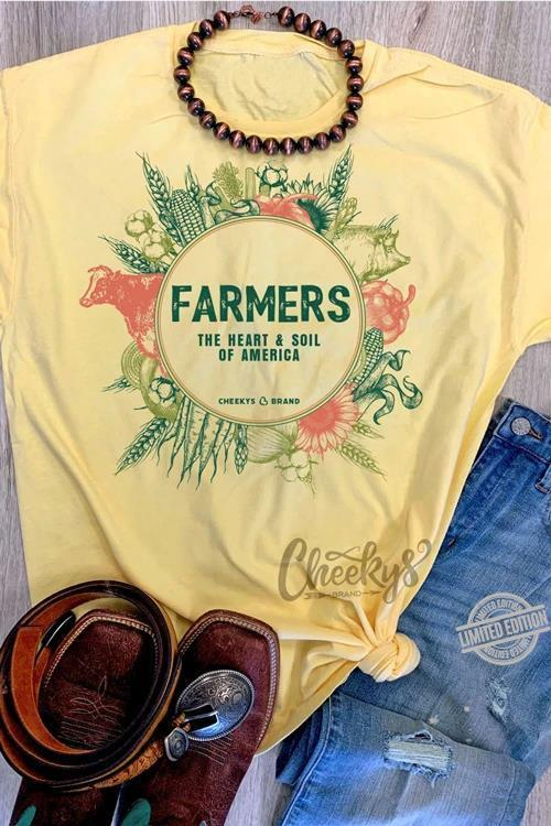 Farmers The Heart & Soil Of America Shirt
