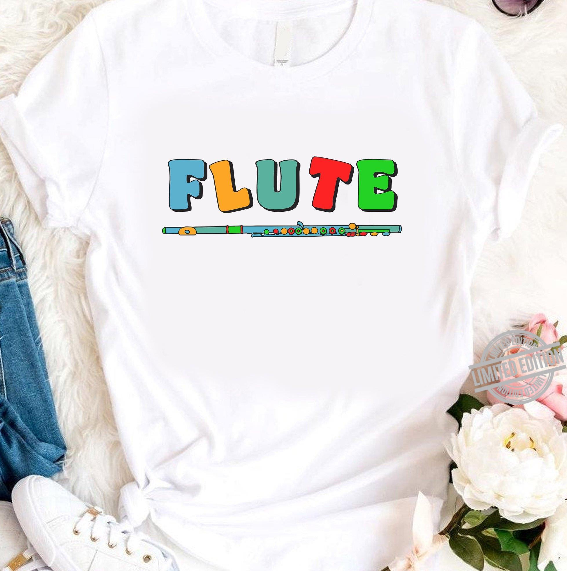 Flute Color fun Shirt