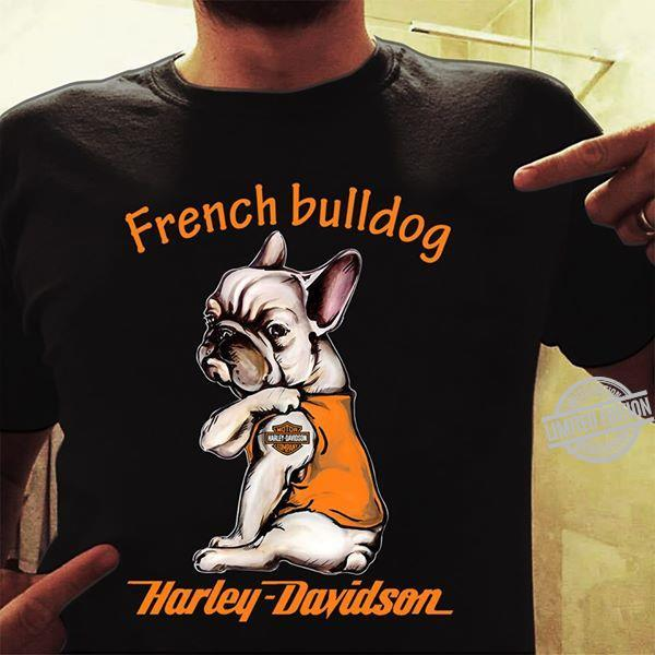 French Bulldog Harley Davidson Motorcycles Shirt