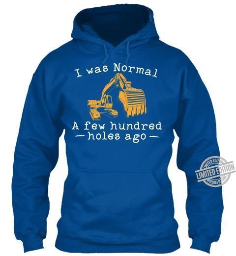 I Was Normal A Few Hundred Holes Ago Shirt