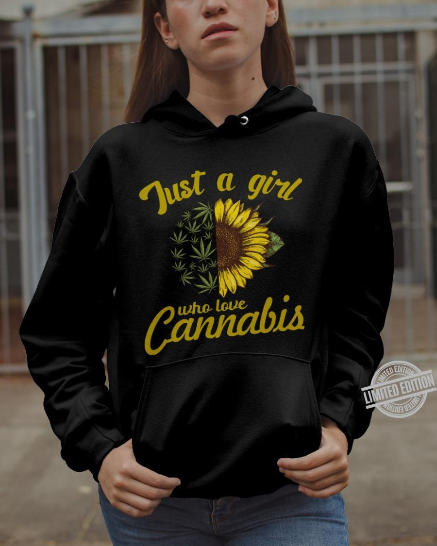 Just A Girl Who Love Cannabis Shirt