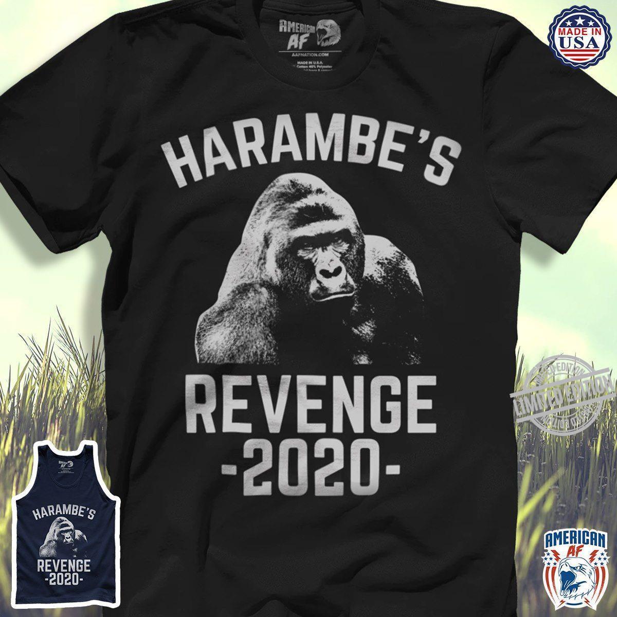 King Harambe's Revenge 2020 Shirt